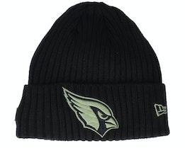 Arizona Cardinals Salute To Service NFL 20 Knit Black Cuff - New Era