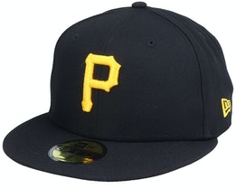 Pittsburgh PiratesAuthentic On-Field59Fifty Black Fitted - New Era