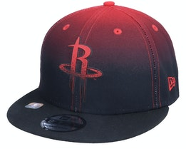 Houston Rockets 9FIFTY NBA20 Back Half Black/Red Snapback - New Era