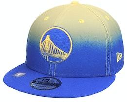 Golden State Warriors 9FIFTY NBA20 Back Half Blue/Yellow Snapback - New Era