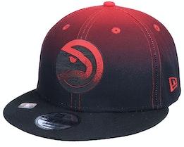 Atlanta Hawks 9Fifty NBA20 Back Half Black/Red Snapback - New Era