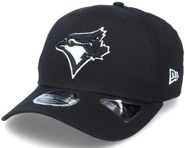 Hatstore Exclusive x Toronto Blue Jays Essential 9Fifty Stretch Black Adjustable - New Era