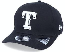 Hatstore Exclusive x Texas Rangers Essential 9Fifty Stretch Black Adjustable - New Era