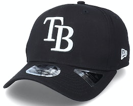 Hatstore Exclusive x Tampa Bay Rays Essential 9Fifty Stretch Black Adjustable - New Era