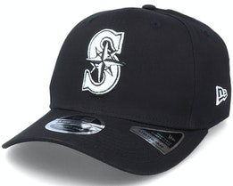 Hatstore Exclusive x Seattle Mariners Essential 9Fifty Stretch Black Adjustable - New Era