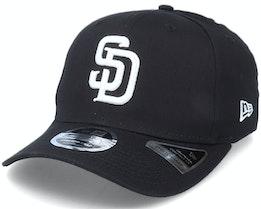 Hatstore Exclusive x San Diego Padres Essential 9Fifty Stretch Black Adjustable - New Era