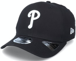 Hatstore Exclusive x Philadelphia Phillies Essential 9Fifty Stretch Black Adjustable - New Era