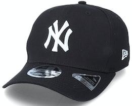 Hatstore Exclusive x New York Yankees Essential 9Fifty Stretch Black Adjustable - New Era