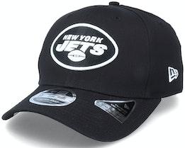 Hatstore Exclusive x New York Jets Essential 9Fifty Stretch Black Adjustable - New Era