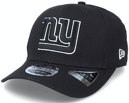 Hatstore Exclusive x New York Giants Essential 9Fifty Stretch Black Adjustable - New Era
