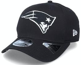 Hatstore Exclusive x New England Patriots Essential 9Fifty Stretch Ne Black Adjustable - New Era