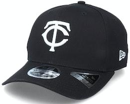 Hatstore Exclusive x Minnesota Twins Essential 9Fifty Stretch Black Adjustable - New Era