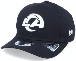 Los Angeles Rams Essential 9Fifty Stretch Black Adjustable - New Era