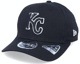 Hatstore Exclusive x Kansas City Royals Essential 9Fifty Stretch Black Adjustable - New Era