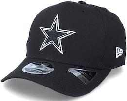 Hatstore Exclusive x Dallas Cowboys Essential 9Fifty Stretch Black Adjustable - New Era