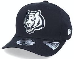 Hatstore Exclusive x Cincinnati Bengals Essential 9Fifty Stretch Black Adjustable - New Era