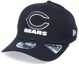Hatstore Exclusive x Chicago Bears Essential 9Fifty Stretch Black Adjustable - New Era