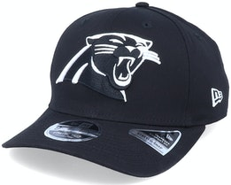Hatstore Exclusive x Carolina Panthers Essential 9Fifty Stretch Black Adjustable - New Era