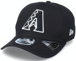 Hatstore Exclusive x Arizona Diamondbacks Essential 9Fifty Stretch Black Adjustable - New Era