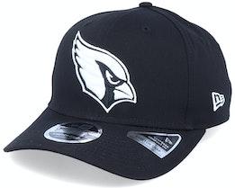 Hatstore Exclusive x Arizona Cardinals Essential 9Fifty Stretch Black Adjustable - New Era