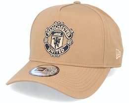 Hatstore Exclusive x Manchester United Essential 9Forty A-Frame Caramel Adjustable - New Era