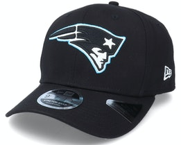 New England Patriots Neon Pop Outline 9Fifty Black Adjustable - New Era