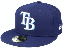 Tampa Bay RaysAuthentic On-Field59Fifty Navy Fitted - New Era