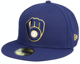 Milwaukee BrewersAuthentic On-Field59Fifty Navy Fitted - New Era