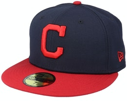 Cleveland IndiansAuthentic On-Field59Fifty Navy/Red Fitted - New Era