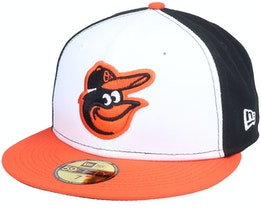 Baltimore OriolesAuthentic On-Field59Fifty White/Orange/Black Fitted - New Era