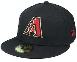 Arizona Diamondbacks Authentic On-Field 59Fifty Black Fitted - New Era