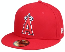 Los Angeles AngelsAuthentic On-Field59Fifty Red Fitted - New Era