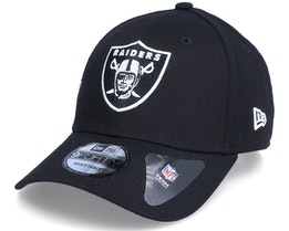 Las Vegas Raiders Side Mark 9Forty Black Adjustable - New Era