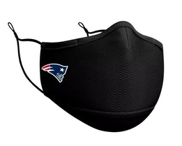 New England Patriots 1-Pack Black Face Mask - New Era