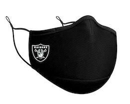 Las Vegas Raiders 1-Pack Black Face Mask - New Era