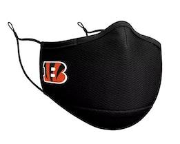 Cincinnati Bengals 1-Pack Black Face Mask - New Era