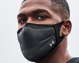Sportsmask Black Face Mask - Under Armour