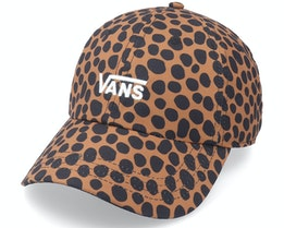 Womens Court Side Printed Hat Animal Spot Dad Cap - Vans