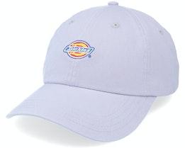 6 Panel Logo Cap Lilac Gray Dad Cap - Dickies