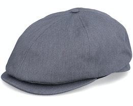 Telida Cap Heather Grey Flat Cap - Dickies
