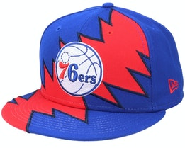 Philadelphia 76ers 9Fifty All-Star Game Tear Blue/Red Snapback - New Era