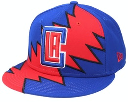 Los Angeles Clippers 9Fifty All-Star Game Tear Blue/Red Snapback - New Era