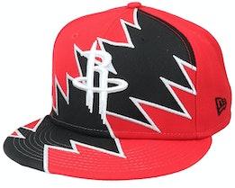 Houston Rockets 9Fifty All-Star Game Tear Red/Black Snapback - New Era