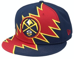 Denver Nuggets 9Fifty All-Star Game Tear Red/Navy Snapback - New Era