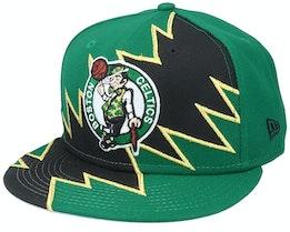 Boston Celtics 9Fifty All-Star Game Tear Green/Black Snapback - New Era
