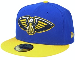 New Orleans Pelicans 59Fifty All-Star Game Colorpack Blue/Yellow Snapback - New Era