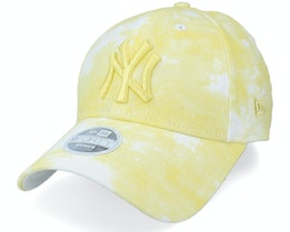 New York Yankees Womens Denim Colour 9FORTY Yellow Adjustable - New Era