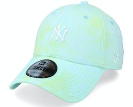 New York Yankees Tie Dye 9FORTY Blue/Green Adjustable - New Era