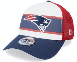 New England Patriots Retro White/Red/Navy Trucker - New Era