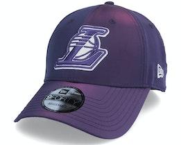 Los Angeles Lakers Hypertone 9FORTY Purple Adjustable - New Era